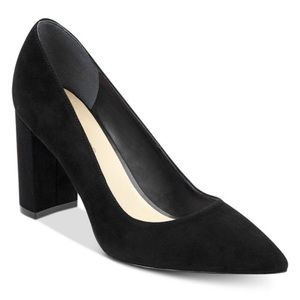 Marc Fisher Viviene Suede Block Heels